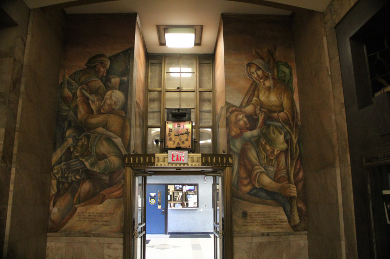 St. Louis MO Post Office Murals 1
