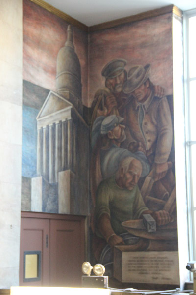 St. Louis Post Office Murals 2