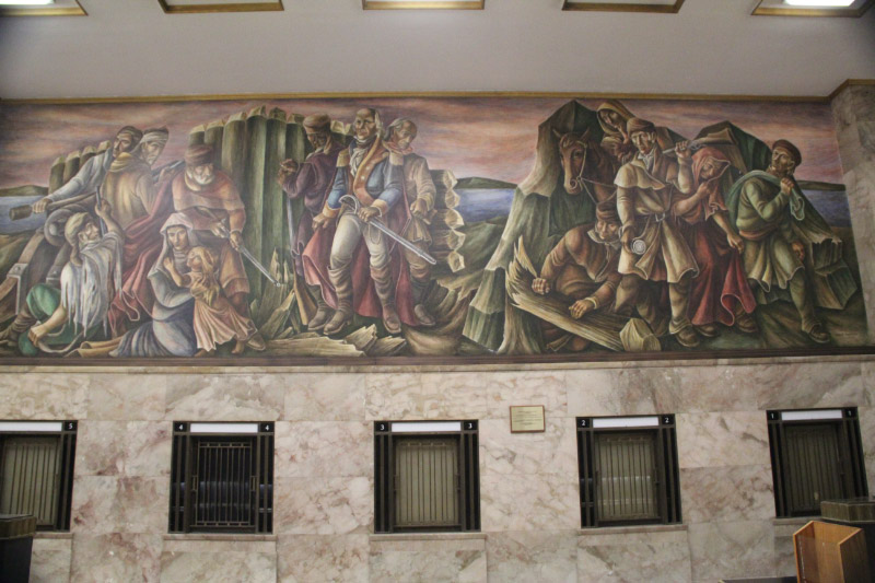 St. Louis Post Office Murals 3