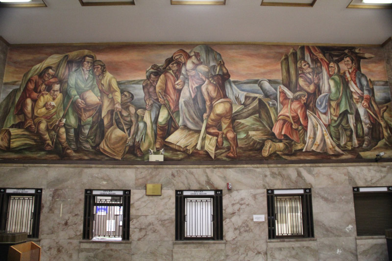 St. Louis Post Office Murals 4