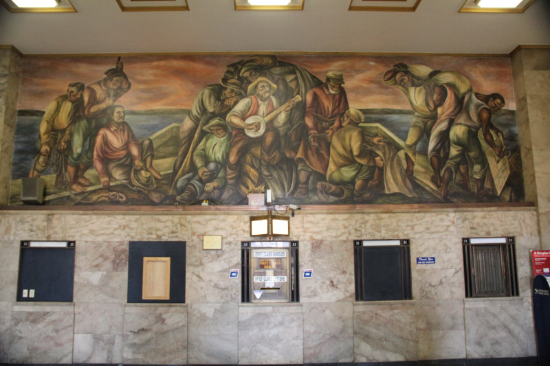 St. Louis Post Office Murals 5