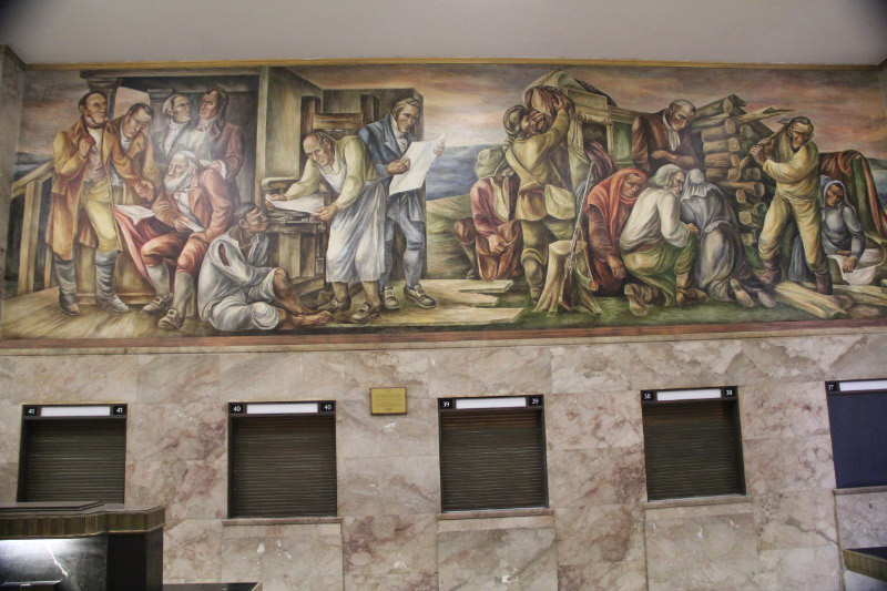 St. Louis Post Office Murals 6