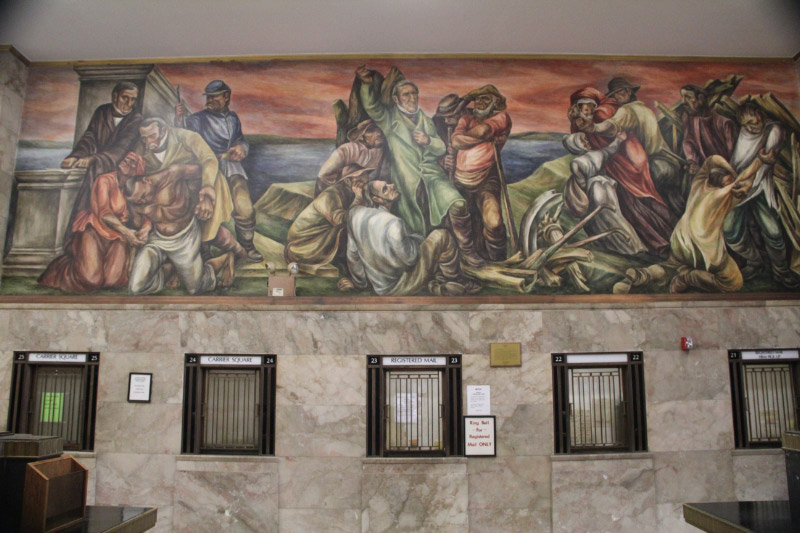 St. Louis Post Office Murals 7