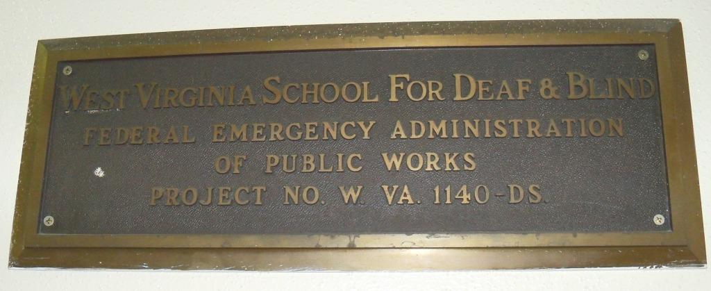 WV School PWA Plaque