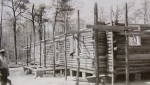 Cabin Under Construction 1940