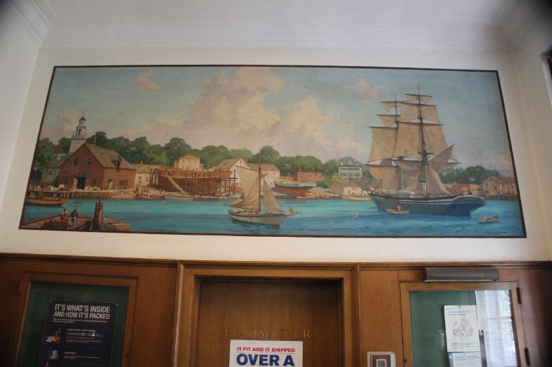 Gordon Grant Post Office Mural