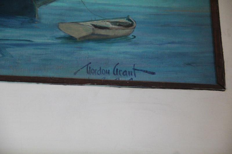 Gordon Grant's Artist Signature