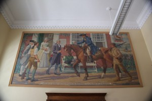 Kennebunk ME (Former) Post Office Mural
