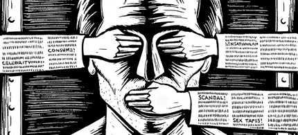 Censorship by Eric Drooker, www.drooker.com