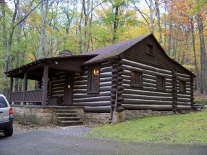 CCC Cabin, Lost River State Park, West Virginia