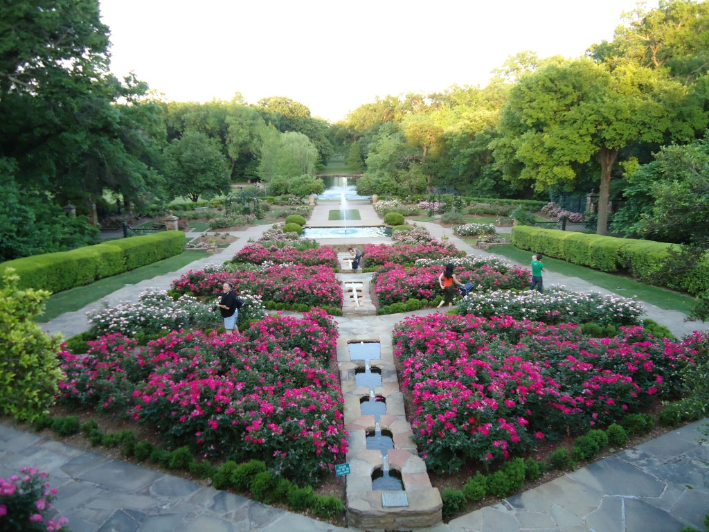 fort worth fort worth botanical garden: