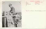 WPA bricklayer working on the Army War College - Washington DC