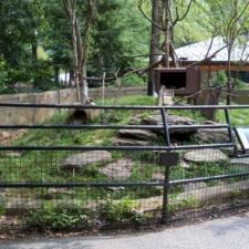 Porcupine exhibit, National Zoo - Washington DC