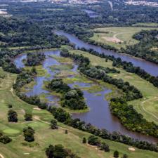 Aerial of Langston Golf Course - Washington DC