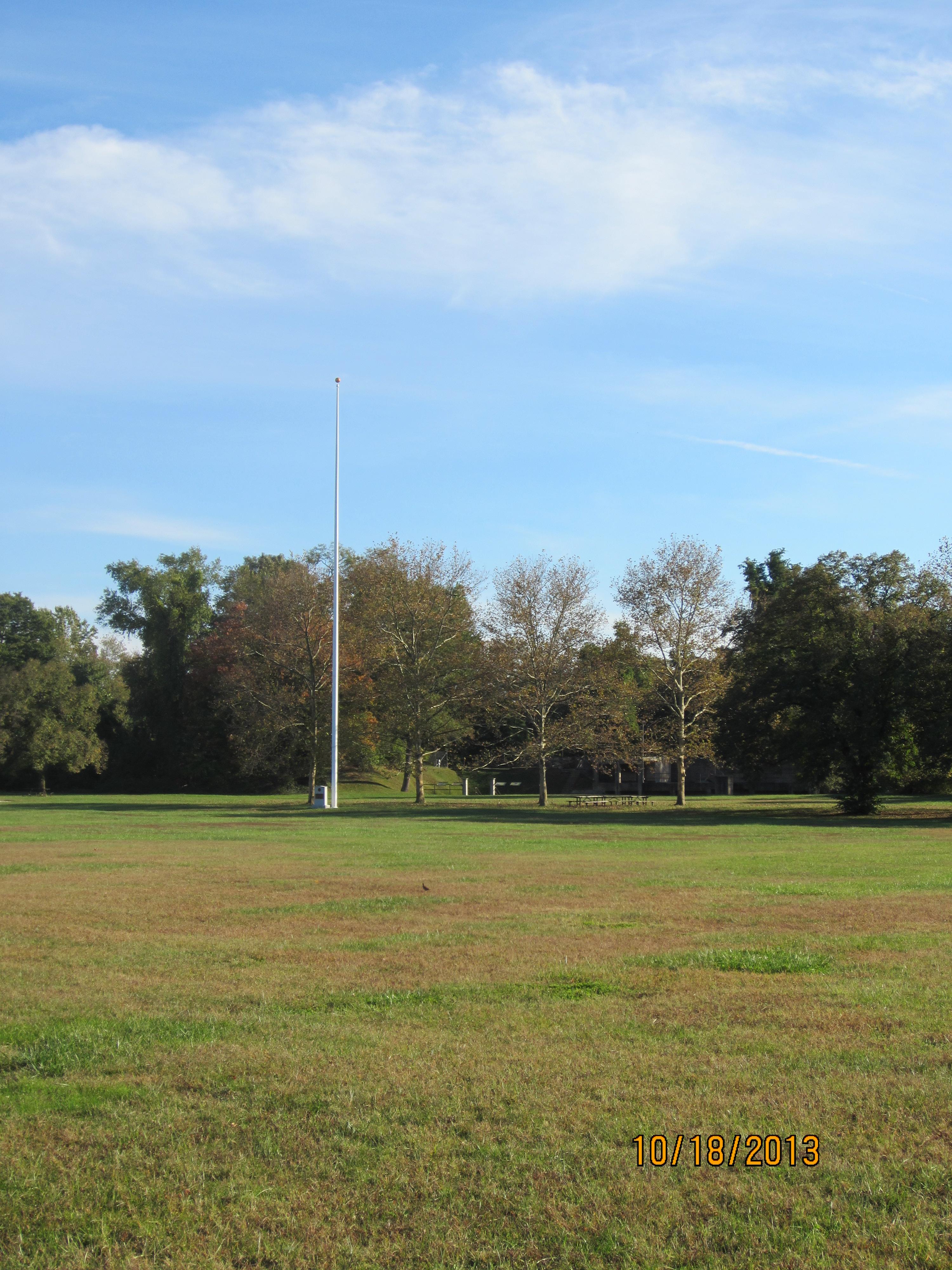 Parade ground,Picnic shelter,Fort Hunt Park
