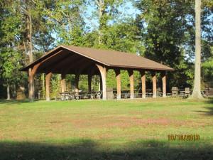 Picnic shelter,Fort Hunt Park