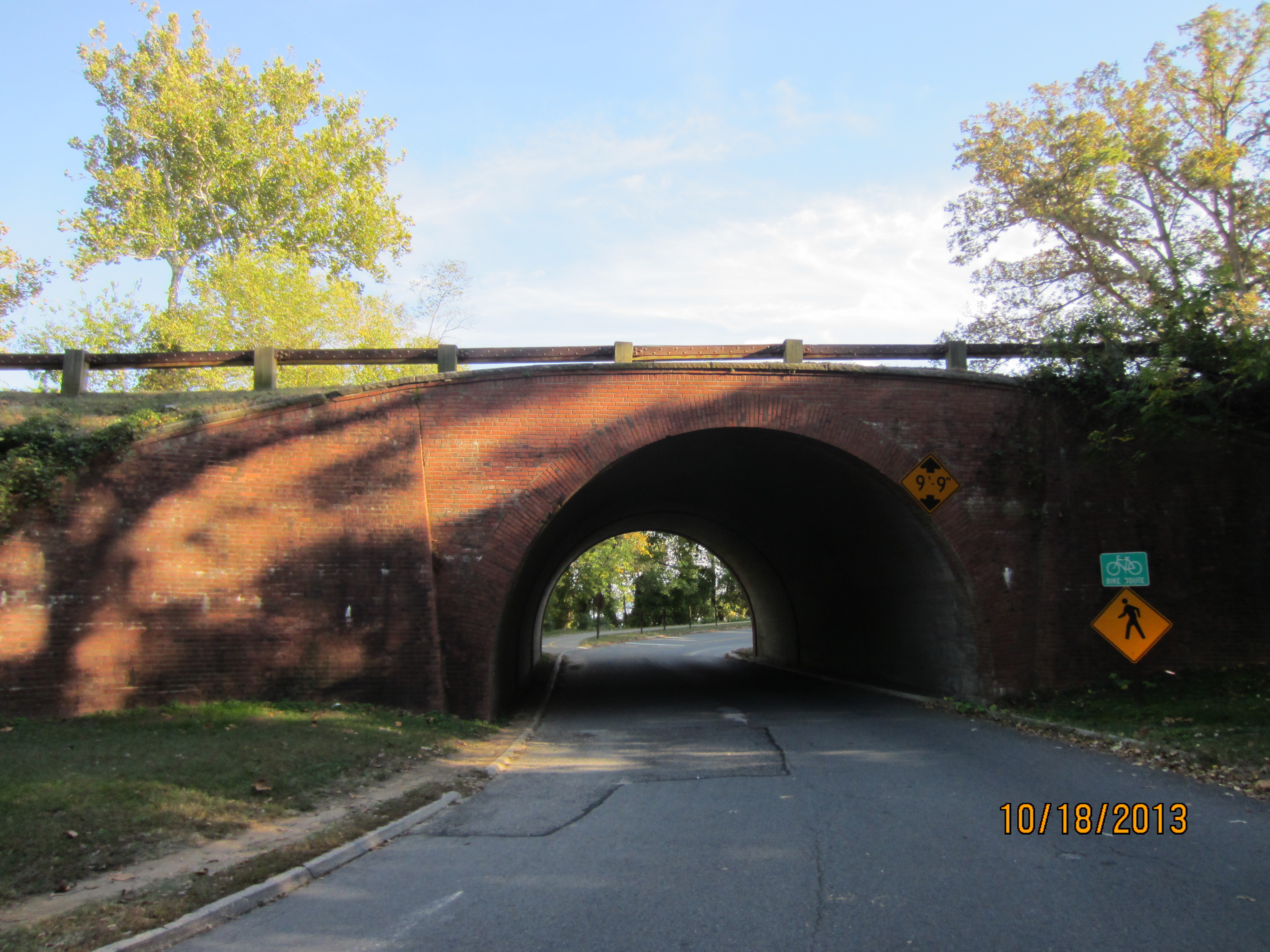 George Washington Memorial Parkway Trestle Bridge, Fort Hunt Park