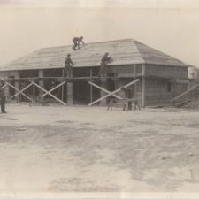 Nursery tool house construction,Fort Hunt Park