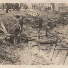 Lake Excavation,Fort Hunt Park