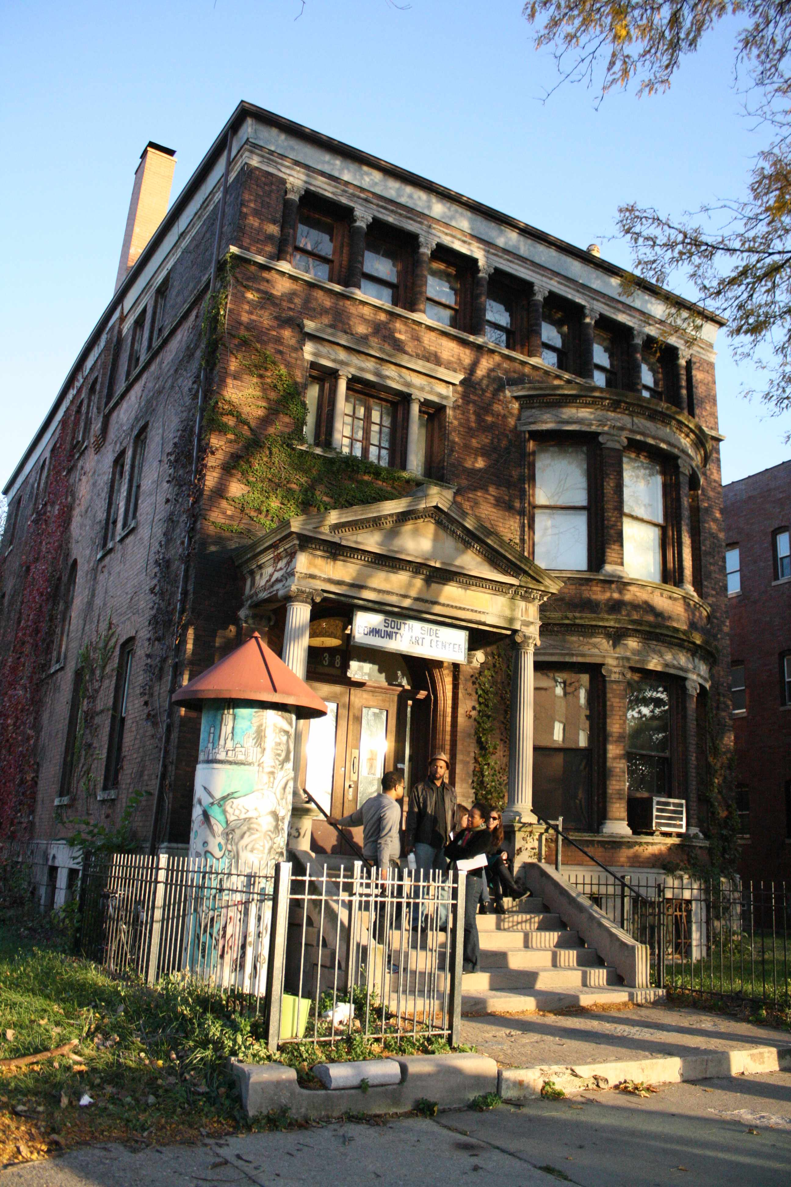 South Side Community Art Center - Chicago IL - Living New Deal