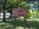Sign atWest Potomac Park - Washington DC