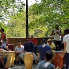 Drummers at Meridian Hill Park - Washington DC
