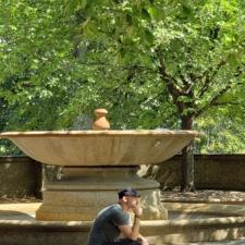 Fountain at Meridian Hill Park - Washington DC