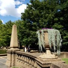 Balustrade at Cascade at Meridian Hill Park - Washington DC
