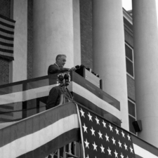 FDR at Dedication, Building 1, NIH - Bethesda MD