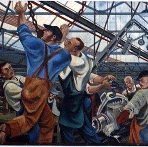 Wayne State University Student Center Mural – Detroit MI