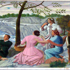 """""""An Old-Fashioned Picnic at Great Falls"""""""