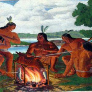 """Early Indian Life on Analostan Island"""