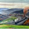 """""""View of Burgettstown"""""""