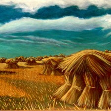 """""""Wheat in the Shock"""""""
