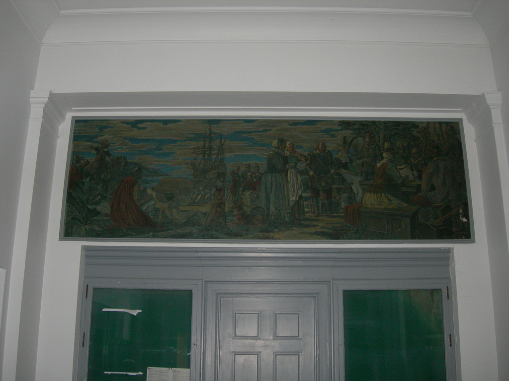 Virginia Beach Post Office mural