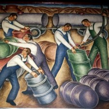 """""""Agriculture and Industries of Ventura--Oil"""""""