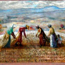 """""""Cotton Field and Spinning Mill"""""""