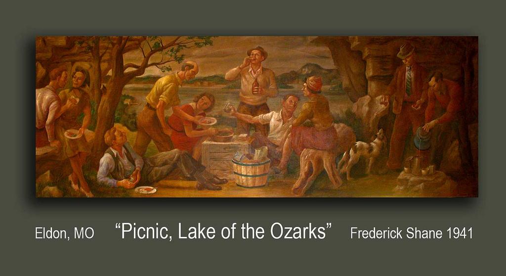 """Picnic, Lake of the Ozarks"""
