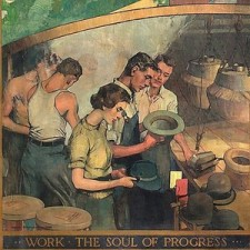 """Work, the Soul of Progress"""