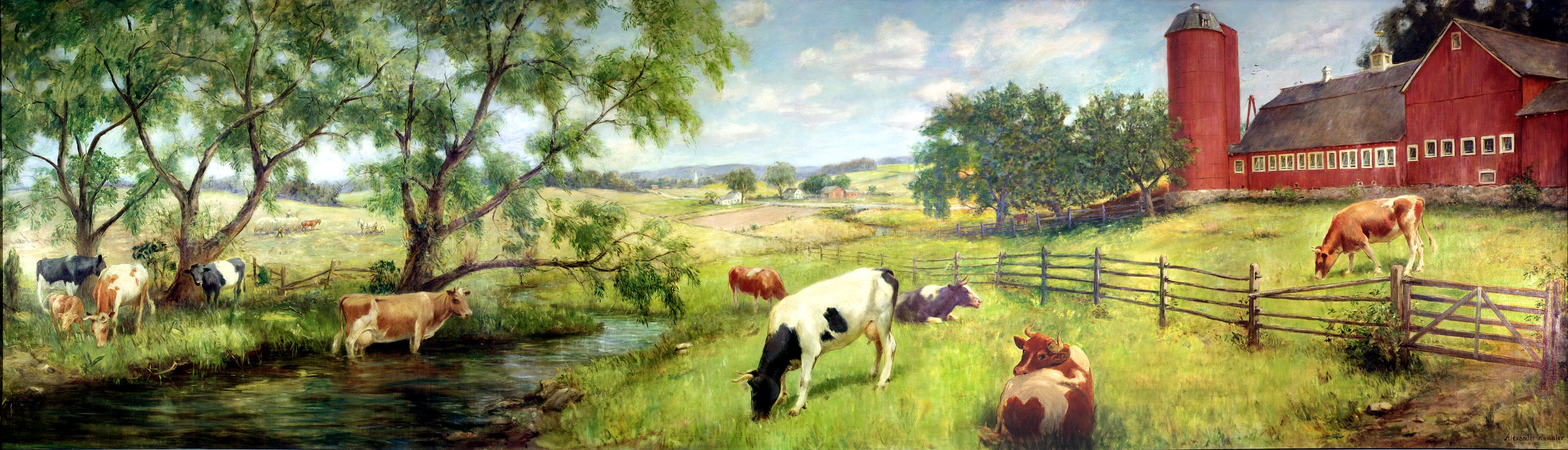 """Dairy Farm - Grade Herd"""