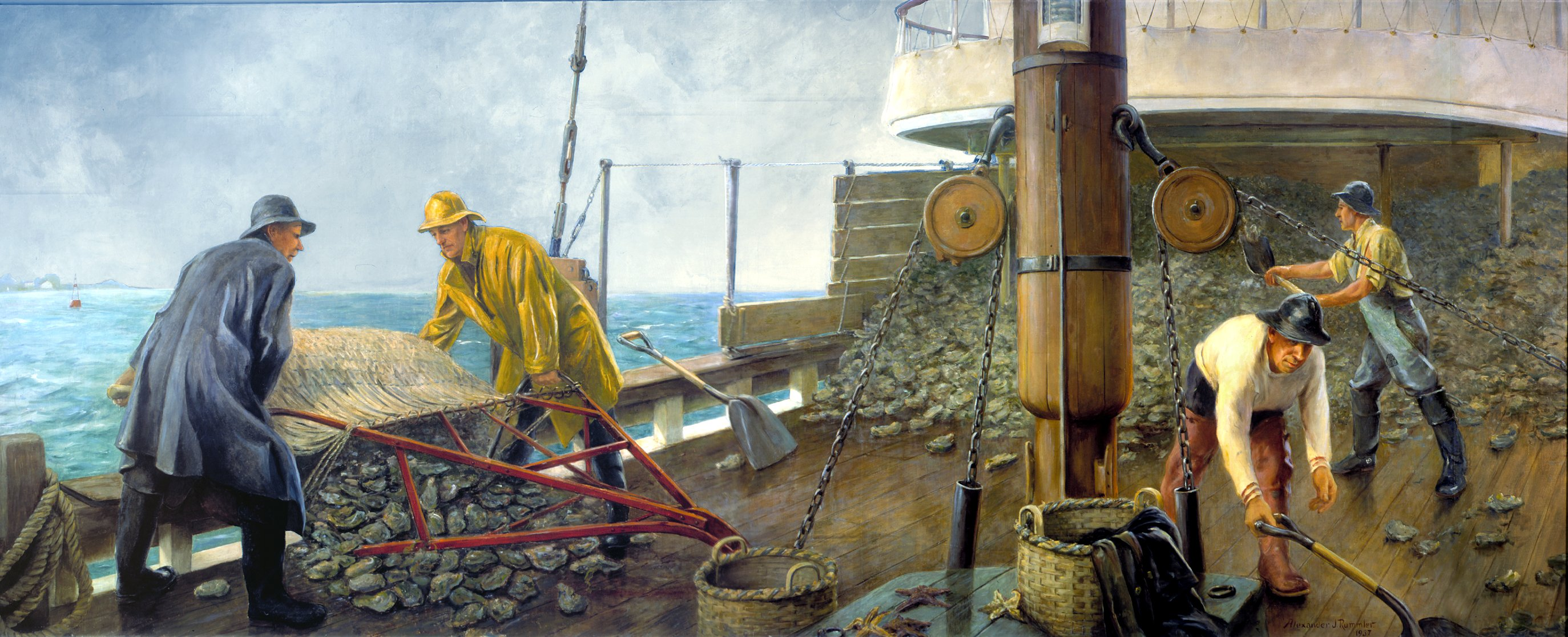 """""""Dredging for Oysters"""""""