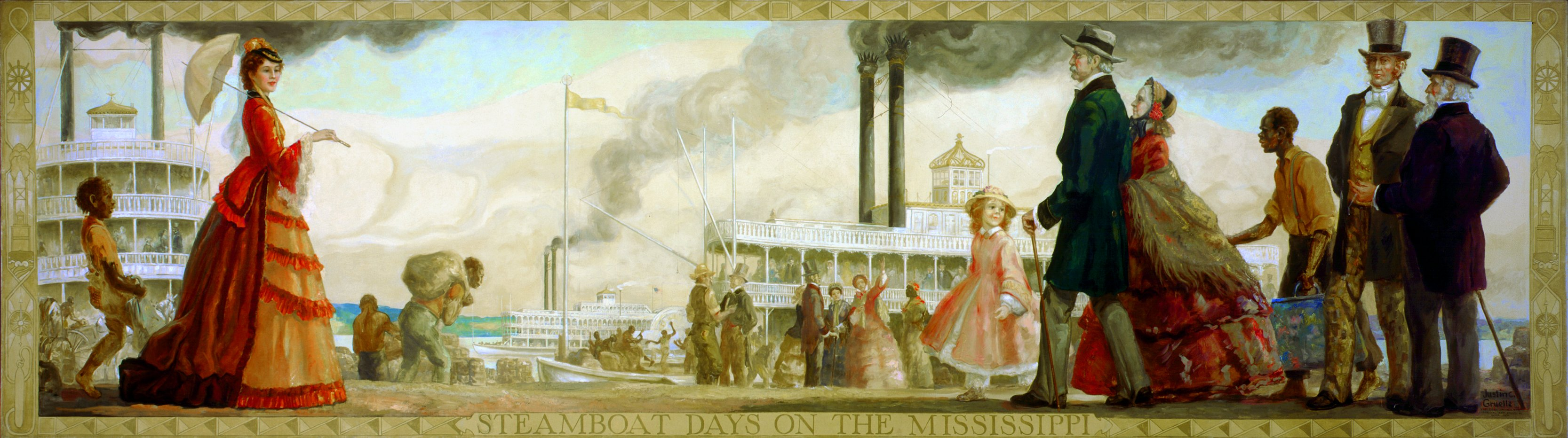 """""""Steamboat Days on the Mississippi"""""""