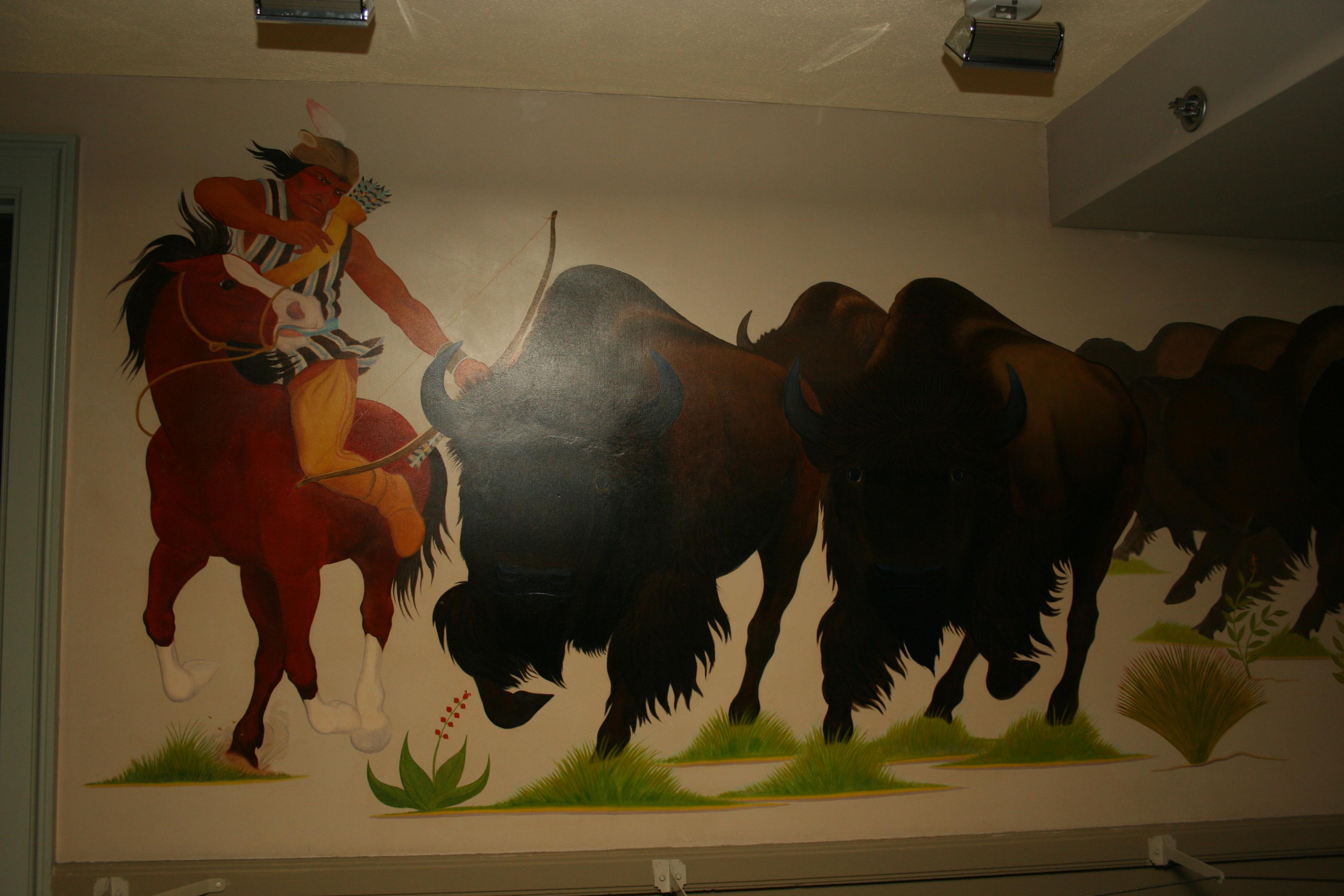 """Pueblo Life: Buffalo Chase"""