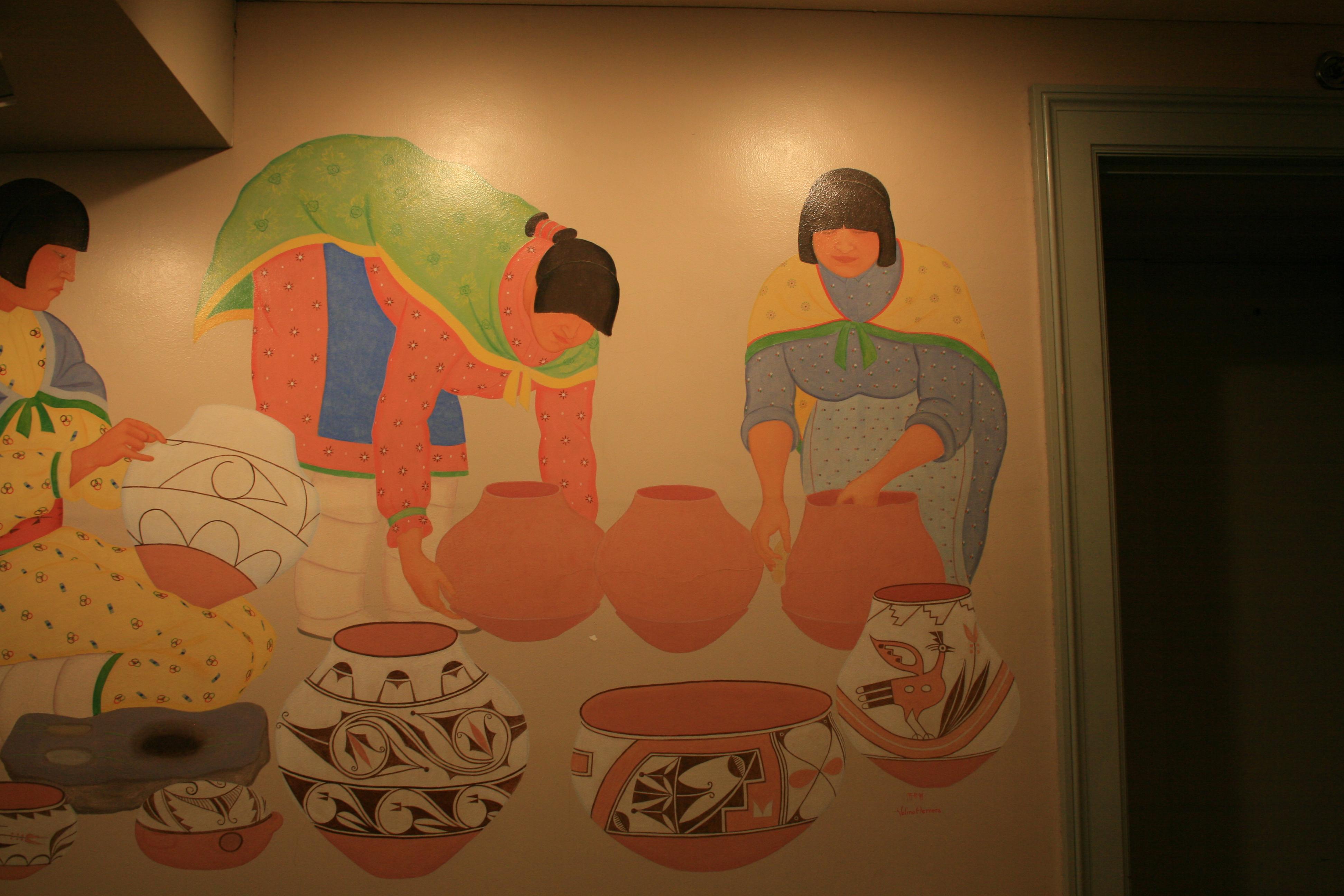 """Pueblo Life: Pottery Makers"""