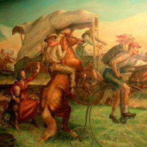 """The Okahoma Land Rush"""