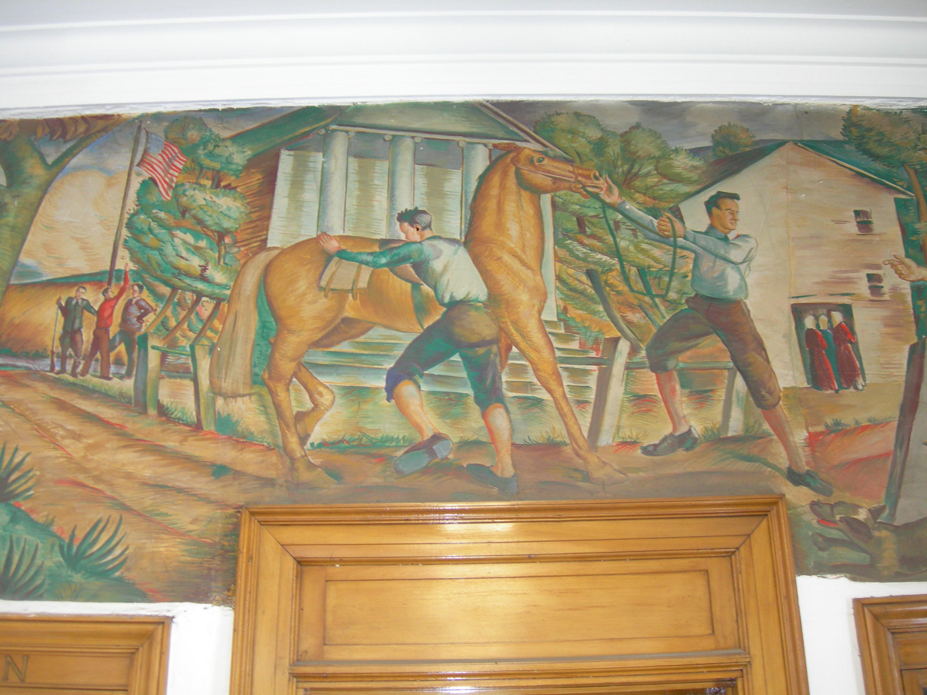 """John Balch--First Post Rider of Plymouth"""