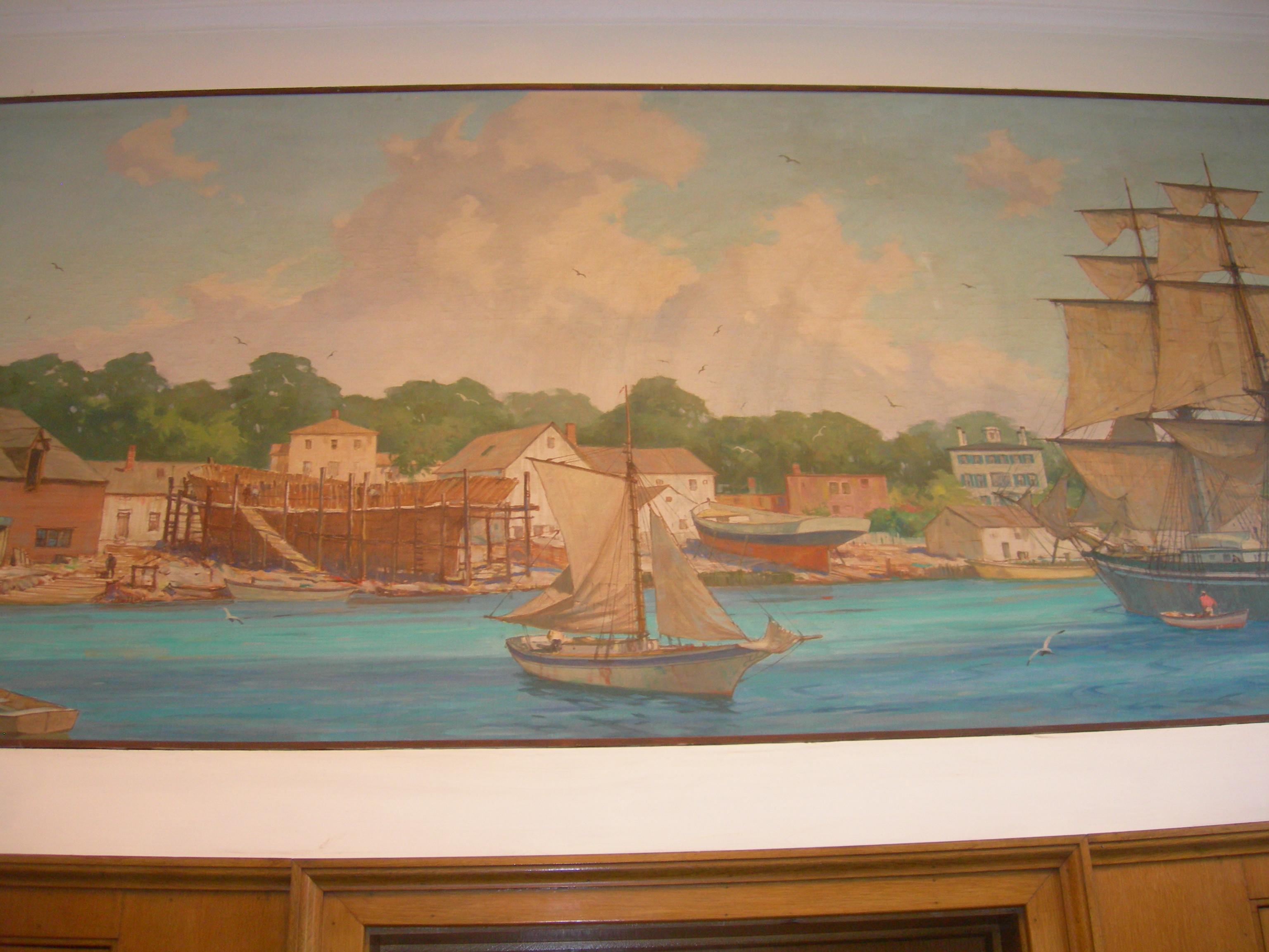 """""""Kennebunkport Harbor, 1825"""""""