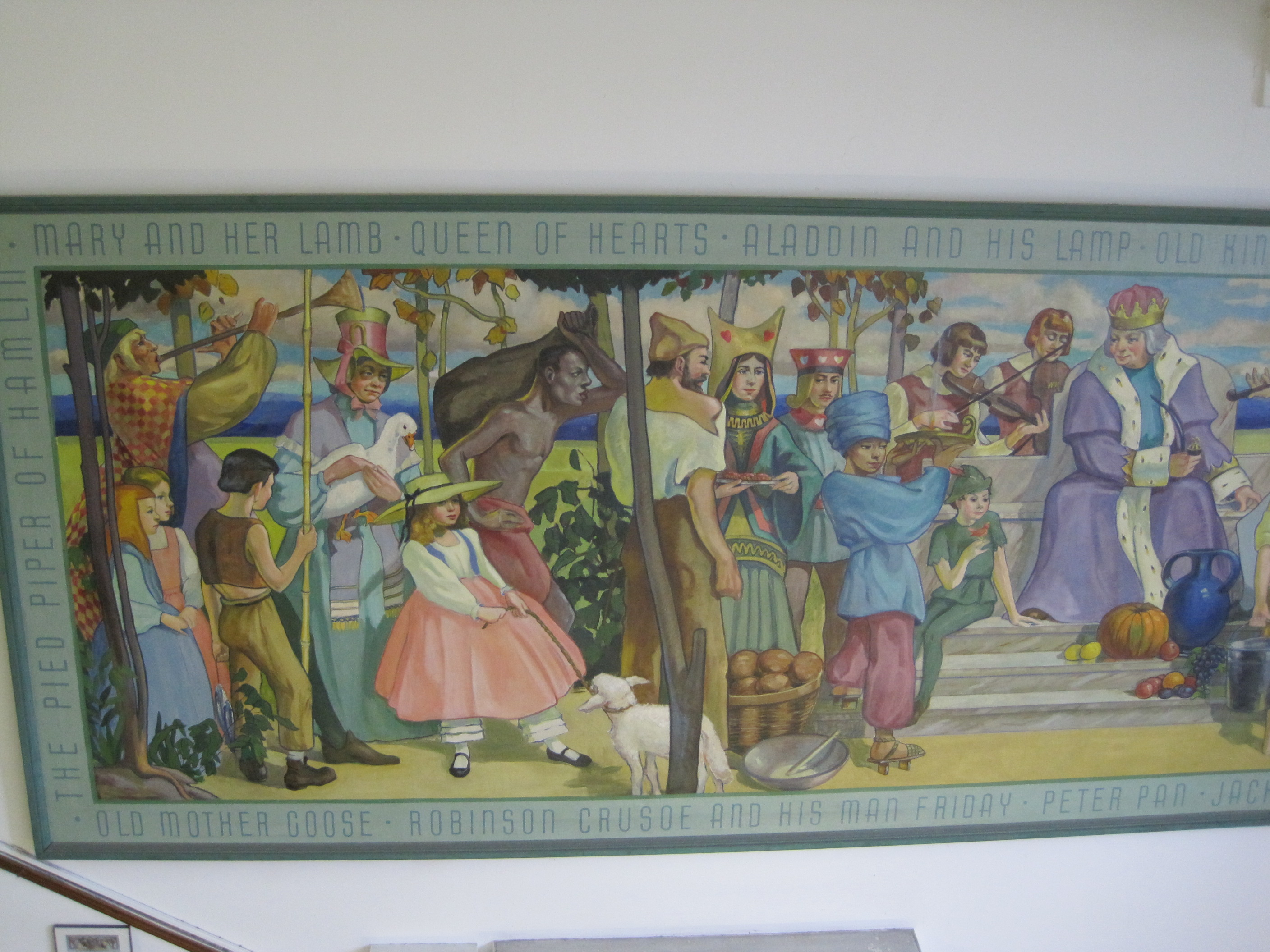 Mozart school freeman mural chicago il living new deal for Mural in chicago illinois