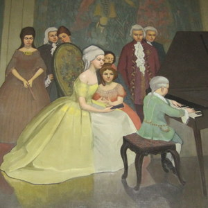 """""""Mozart at the Court of Maria Theresa, 1762"""""""