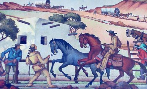 """The Pony Express Station"""